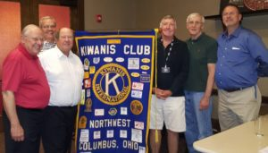 Four Club Members Recognized for Their Service
